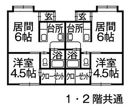 アパート-旭川市永山三条23丁目 間取り