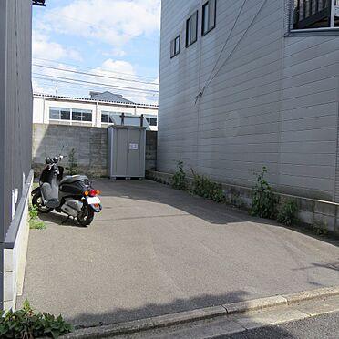 土地-京都市伏見区深草下横縄町 日当たり良好です。(2021年4月撮影)