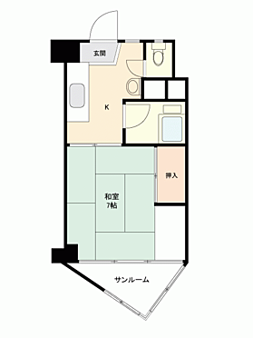 マンション(建物一部)-新宿区北新宿1丁目 間取り