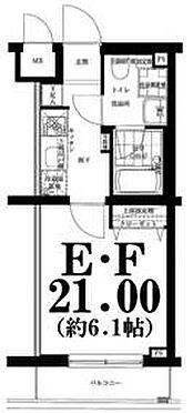 マンション(建物一部)-川崎市中原区木月住吉町 間取り
