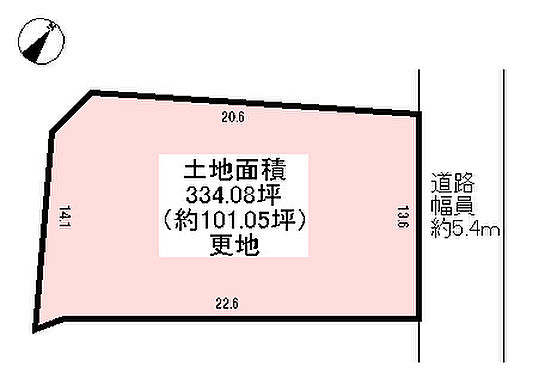 土地-神戸市北区幸陽町3丁目 区画図