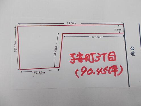 土地-八王子市子安町3丁目 区画図