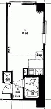 マンション(建物一部)-札幌市中央区大通西18丁目 間取り