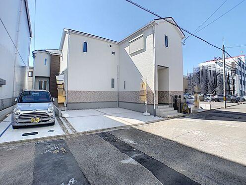 新築一戸建て-名古屋市守山区新守山 2台止められます。止めやすいです。