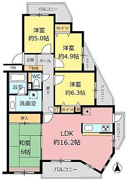 マンション(建物一部)-名古屋市名東区貴船1丁目 間取り