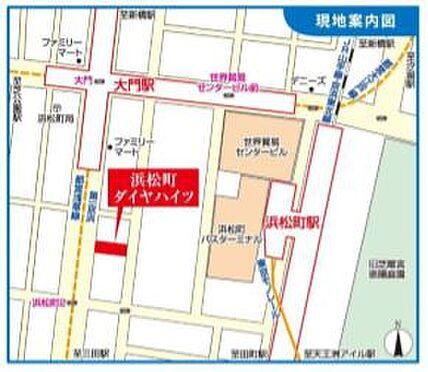 事務所(建物一部)-港区浜松町2丁目 地図