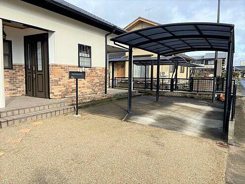 中古一戸建て-江南市曽本町幼川添 駐車は約4台可能です。(車種による)