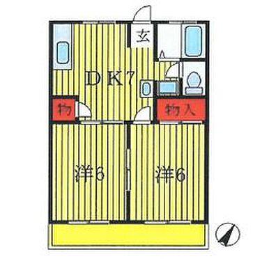 アパート-松戸市河原塚 間取り