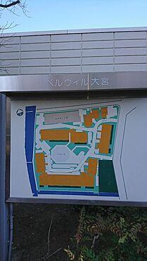 中古マンション-さいたま市北区日進町1丁目 ベルヴィル大宮地図
