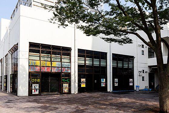 中古マンション-品川区八潮5丁目 八潮の児童館・図書館・体育館です。