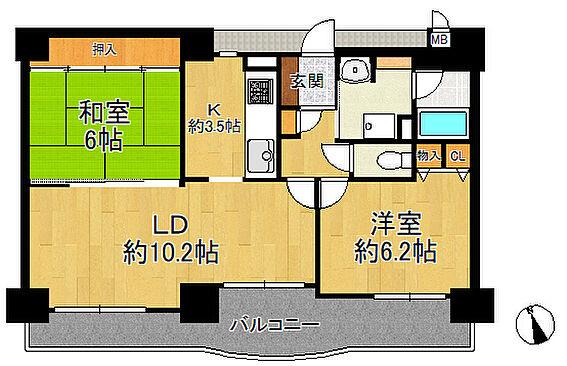 マンション(建物一部)-大阪市西区千代崎3丁目 間取り