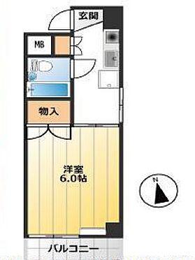 マンション(建物一部)-新宿区新宿7丁目 間取り