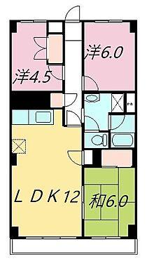 マンション(建物一部)-草加市松原4丁目 ●間取図●