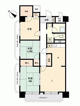 中古マンション-八戸市柏崎2丁目 間取り