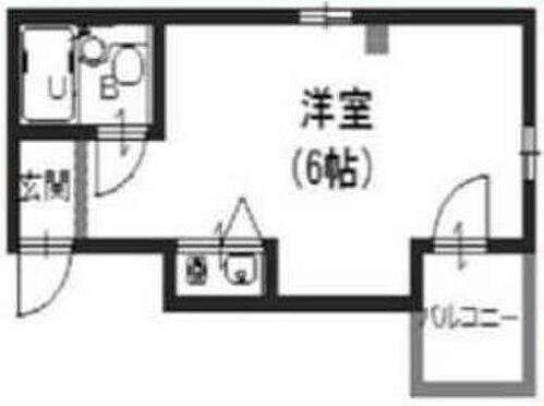 マンション(建物一部)-大阪市中央区上本町西1丁目 シンプルな間取り