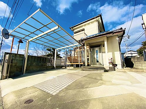 中古一戸建て-糟屋郡志免町田富2丁目 駐車2台可能!カーポート・門シャッタ―付です!