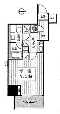 マンション(建物一部)-江東区亀戸6丁目 間取り