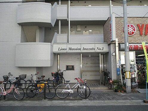 中古マンション-大阪市生野区新今里3丁目 エントランスアプローチ