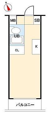 マンション(建物一部)-札幌市白石区南郷通1丁目北 間取り