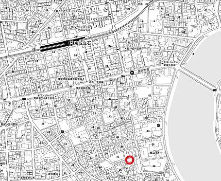 マンション(建物全部)-葛飾区東立石4丁目 地図