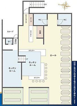 店舗事務所(建物一部)-港区西麻布1丁目 間取り図