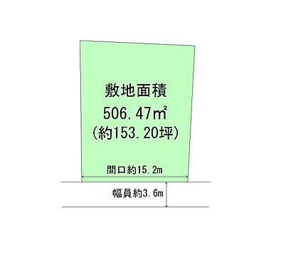 土地-柴田郡大河原町大谷字原前 区画図