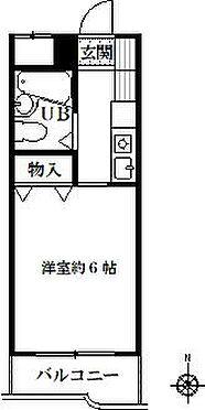 マンション(建物一部)-名古屋市天白区原2丁目 間取り