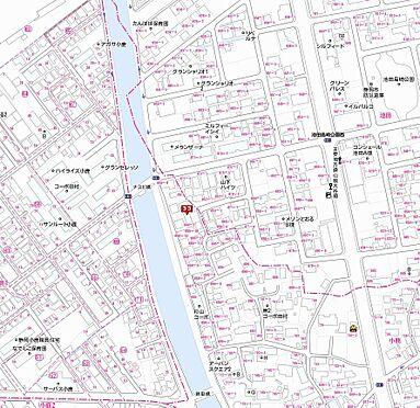アパート-静岡市駿河区小鹿 地図