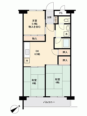 マンション(建物一部)-札幌市北区北36丁目 間取り