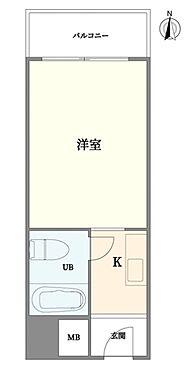 区分マンション-神戸市灘区上河原通3丁目 間取り