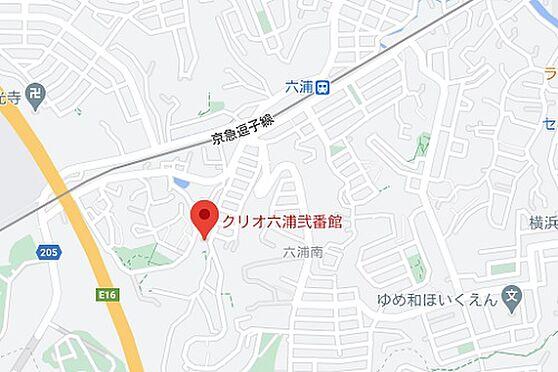 マンション(建物一部)-横浜市金沢区六浦南5丁目 地図
