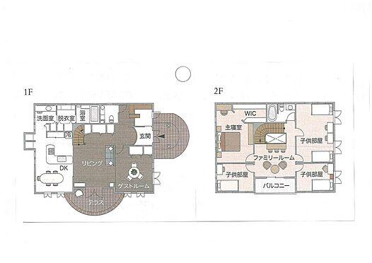 土地-大津市南小松 推奨プラン:施工面積40坪:建物価格2200万円