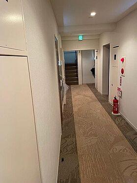 区分マンション-目黒区大岡山1丁目 共用部 廊下