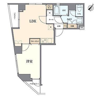 マンション(建物一部)-中央区日本橋蛎殻町2丁目 間取り