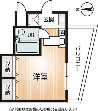 マンション(建物一部)-大阪市天王寺区大道3丁目 間取り
