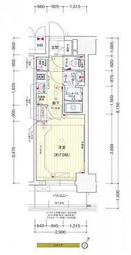 マンション(建物一部)-大阪市福島区海老江8丁目 間取り