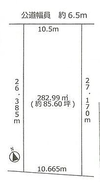 土地-名古屋市緑区徳重4丁目 区画図