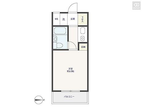 マンション(建物一部)-横浜市南区中里1丁目 間取り