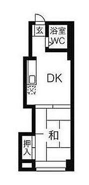マンション(建物一部)-札幌市白石区菊水九条3丁目 間取り