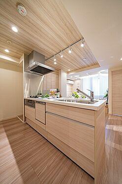中古マンション-中央区新富1丁目 食洗機付キッチン