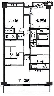 マンション(建物一部)-神戸市北区桂木2丁目 広々とした3LDK