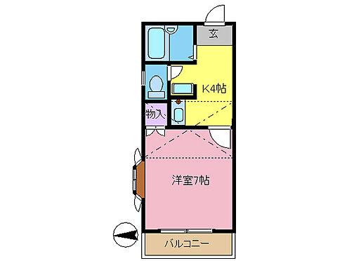 アパート-春日部市栄町3丁目 全室ロフト付き・バス、トイレ別