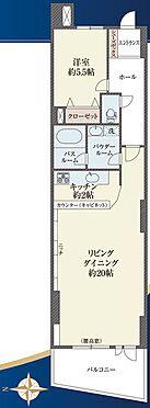 マンション(建物一部)-渋谷区千駄ヶ谷3丁目 間取り