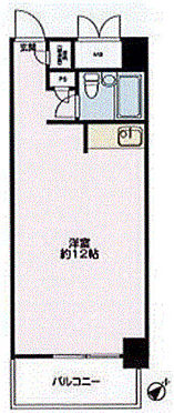 事務所(建物一部)-中央区日本橋小伝馬町 間取り