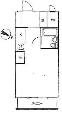 マンション(建物一部)-大田区大森北3丁目 間取り
