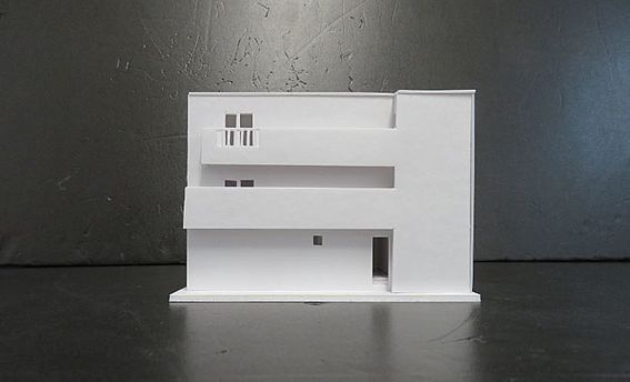 アパート-名古屋市西区花の木3丁目 外観模型