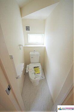 新築一戸建て-仙台市太白区富沢2丁目 トイレ