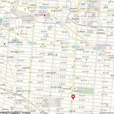 住宅付店舗(建物全部)-旭川市東光八条4丁目 地図