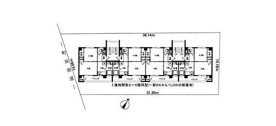 マンション(建物全部)-町田市木曽東4丁目 間取り