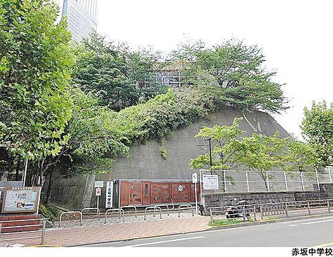 店舗(建物一部)-港区赤坂7丁目 赤坂中学校